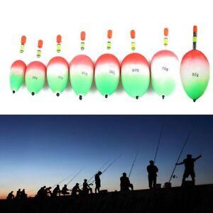 5pcs-Kunststoff-Baton-Lumineux-Angeln-Nacht-Schwimmer-EVA-Schaum-Ball-Boia