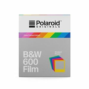 Polaroid Originals B&W Film for 600 - Hard Color Frames 696580466772
