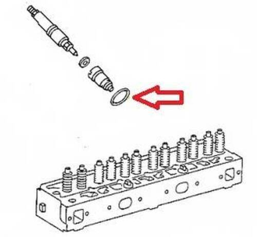 Anillo obturador distancia tubo wasserschutzhülse Unimog 406,403,424,425,435 y MB Trac