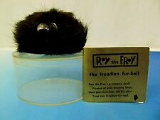 Roy The Froy The Freudian Fur-Ball Novelty Toy 1961 w/ Tag & Case VHTF