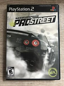 Need-For-Speed-Pro-Street-Ps2-Sony-Playstation-2-Complete-W-box-amp-Manual