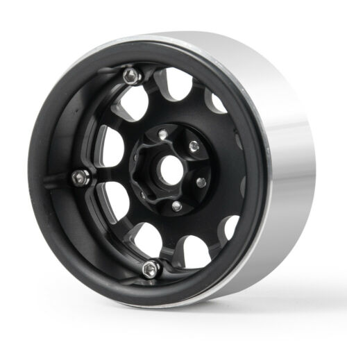 1//4 x 2.2/'/' Alloy Beadlock Wheels For RC 1//10 AXIAL Wraith SCX10 TRX4 Crawler