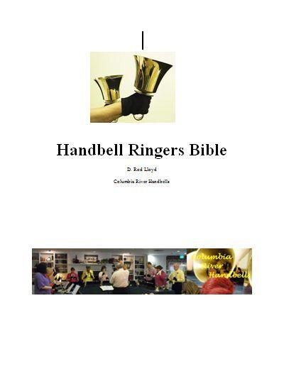 Handbells 101, 4 Malmark, Schulmerich Bells & Hand Chimes Handbell Ringers Bible