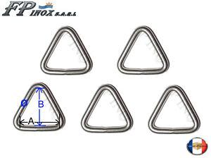 Anneau-Triangulaire-inox-8mm-x-50mm-Lot-de-5-inox-Triangle