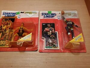 1993 Starting Lineup Collectibles! TOPPS! KARL Malone + John Stockton LOT (2)