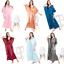 miniature 2 - Women Plus Size Kaftan Boho Maxi Dress Night Gown Women's Sleeve Vintage Caftan