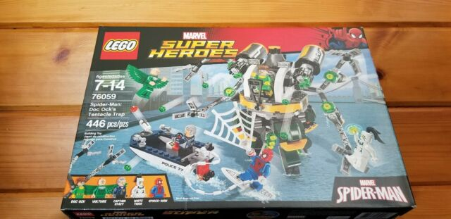 LEGO 76059 Marvel Spider-Man Doc Ock/'s Tentacle Trap Doc Ock Minifigure