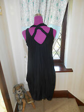 Amazing All Saints Avocet Dress Black Size 8 Excellent Condition
