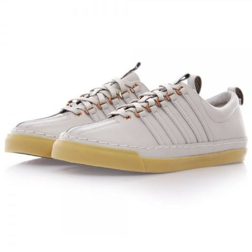 K-Swiss X Billy Reid Arlington VT Mens White Light Gum Leather 03422-152