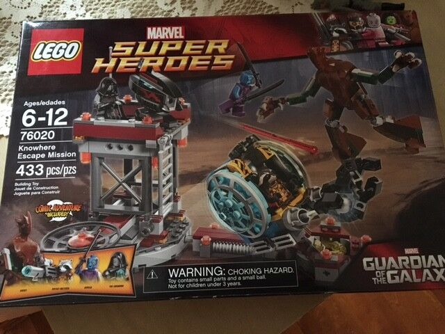 LEGO Guardians of the the the Galaxy Knowhere Escape Mission (76020) BRAND NEW SEALED 8d6824