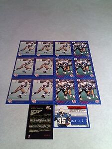 Tyrone-Jones-Lot-of-22-cards-3-DIFFERENT-Football-CFL