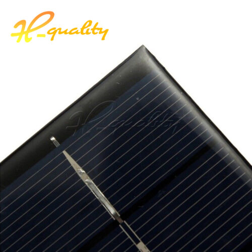 Mini 6V 330mA Outdoor Solar Panel 2W Power Supply DIY Battery Epoxy Charger