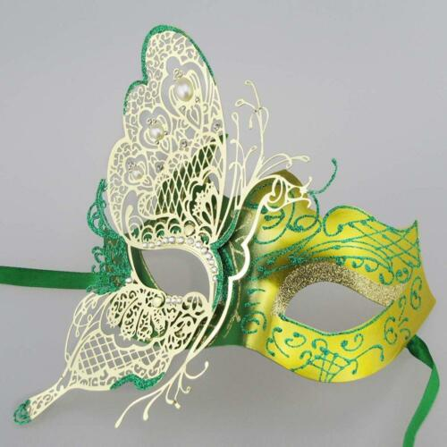 Mysterious Venetian Butterfly Lady Masquerade Halloween Party Mask