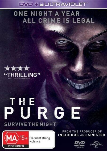 The Purge DVD Region 4 (VG Condition)