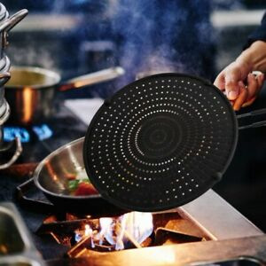 2X-32cm-Silicone-Splatter-Screen-Guard-Nonstick-Oil-Grease-Pan-Lid-for-Frying-Pa
