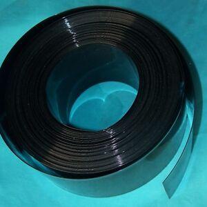Battery-Sleeve-PVC-Heat-Shrinkable-Tube-Wrap-Black-Width-258MM-164MM-x-1M