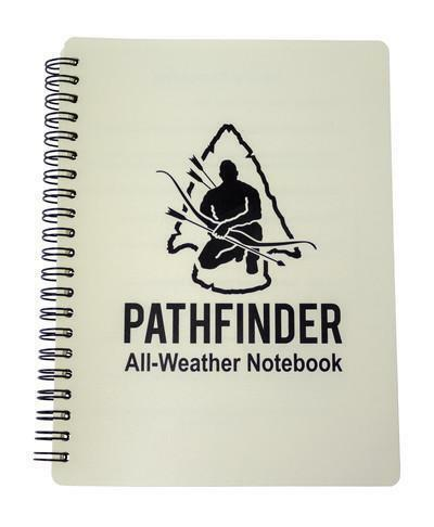 "PATHFINDER 6/"" X 9/"" ALL WEATHER NOTEBOOK NOTEPAD BUSHCRAFT SURVIVAL EDC"