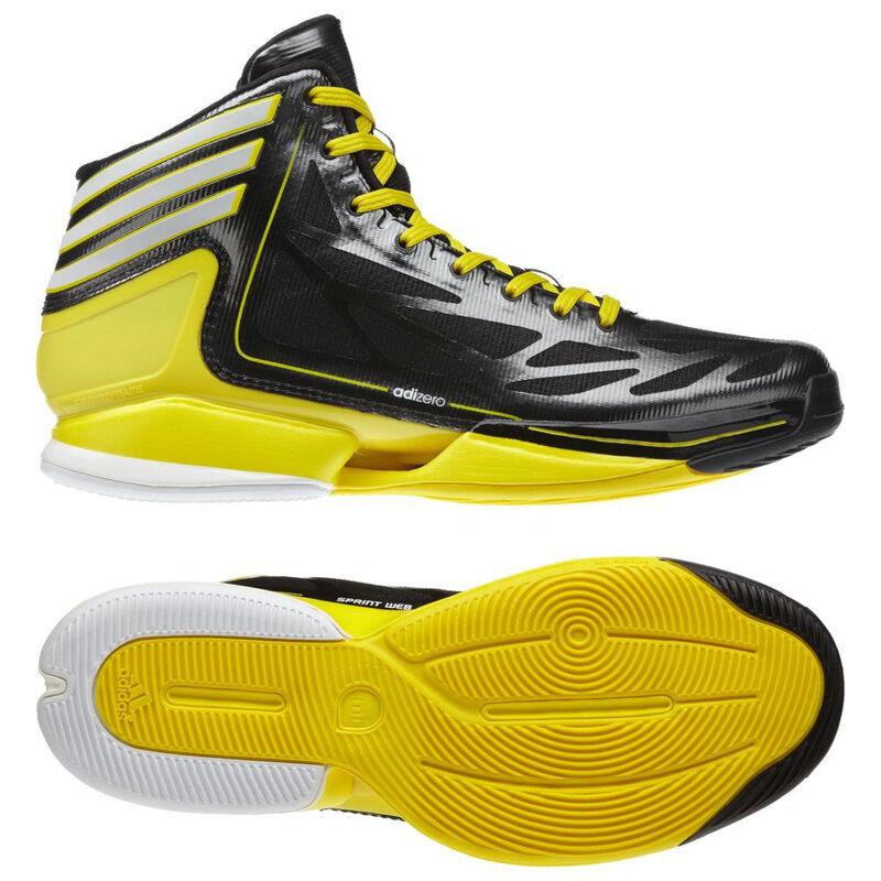 Adidas basket adizero strana taglia luce 2 scarpe scarpe taglia strana 40 - 50, 5 nero 6fb14c