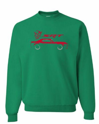 Dodge Challenger SRT Demon Sweatshirt American Muscle Car Hemi