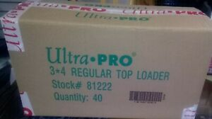 Lot-of-1000-Ultra-Pro-Top-Loaders-Brand-New-Free-Ship