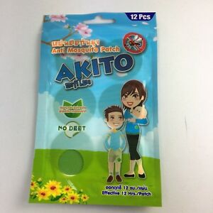 Akito Anti Mosquito Patches Outdoor Insect Mosquito Protect Kids