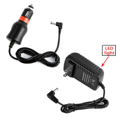 Dual Twin Dc Car Charger Power Cord Adapter for RCA Drc69707 Drc69707e Drc799...