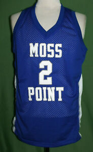 factory authentic c981a f90a7 Details about DEVIN BOOKER #2 MOSS POINT HIGH SCHOOL BASKETBALL JERSEY NEW  SEWN ANY SIZE
