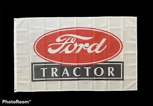 Ford Tractor Flag - 3ft x 5ft Free Shipping
