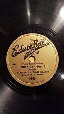 BRITISH 78 rpm RECORD Edison Bell Winner BAND H.M. SCOTS GUARDS  Mikado SULLIVAN