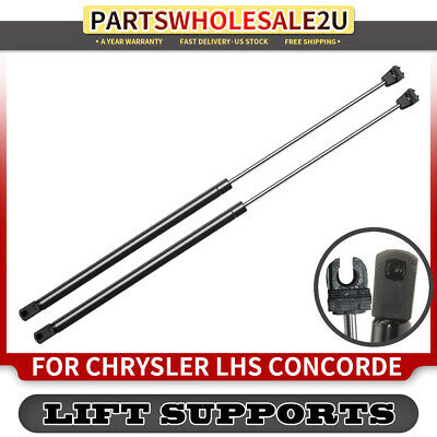 2Qty Front Hood Lift Support Strut Spring Damper Shock For Chrysler Concorde LHS