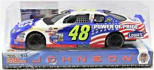 2002 Jimmie Johnson 1:24 Power Of Pride Lowes Race Car Replica Stars & Stripes