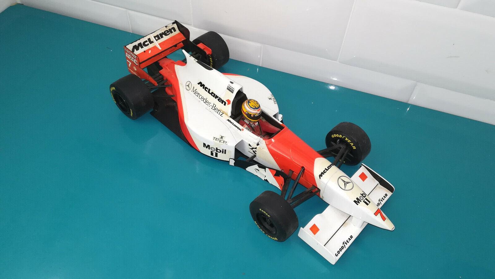 30.09.18.5 Voiture Formule 1 F1 MC LAREN MP 4 10 1995 Minichamps 1 18 Blundell
