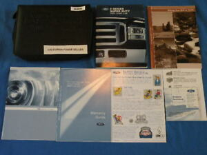 ford  series   super duty owners manual