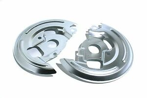 Chevy-GM-A-Body-Backing-Plates-Set-Dust-Shields-Disc-Brake-Pair-Fit-1964-1972