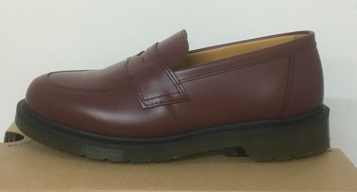 DR.  MARTENS ADDY CHERRY ROT  DR. SMOOTH  LEATHER  Schuhe SIZE UK 4 0e13b1