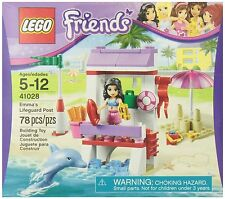 LEGO FRIENDS EMMA'S LIFEGUARD POST (41028) - RETIRED - NEW IN FACTORY SEALED BOX