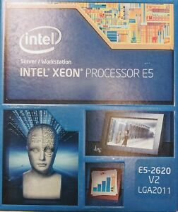 Intel Xeon E5-2630 v2 Six-Core Processor 2.6GHz 7.2GT//s 15MB LGA 2011 CPU BX80635E52630V2