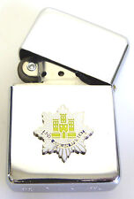 ROYAL ANGLIAN REGIMENT BADGED  WINDPROOF CHROME PLATED LIGHTER
