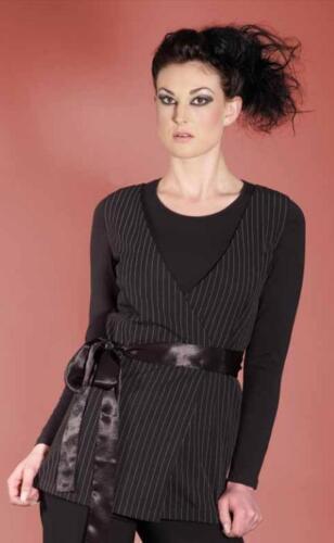 Salon Waistcoat Tunic Beauty Therapist Nail Spa Massage Uniform Work Beautician