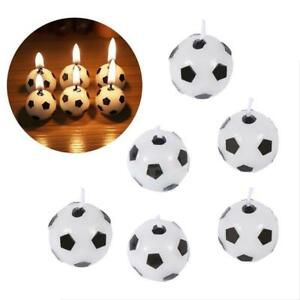 6pcs-Soccer-Football-Candles-Ball-Shaped-Cake-Topper-Birthday-Party-Decoration