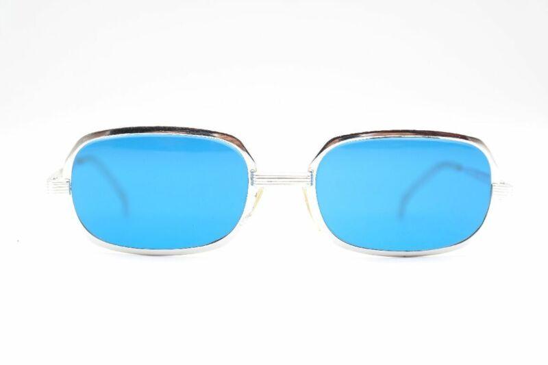 Geschickt Vintage Tilt 60s Silber Eckig Sonnenbrille Sunglasses Brille Nos Farben Sind AuffäLlig