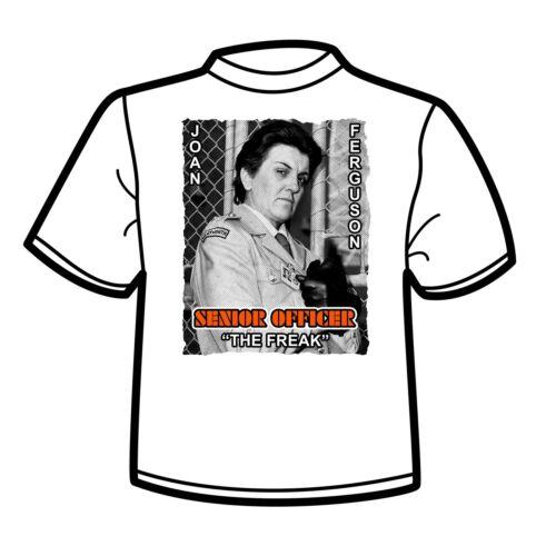 """Joan /""""The Freak/"""" Ferguson Male T Shirt Prisoner Cell Block H"""