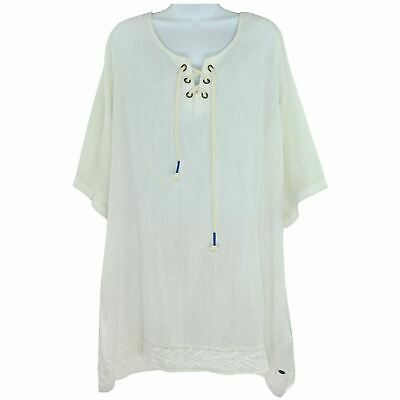 short sleeve beach tunic size S RRP30