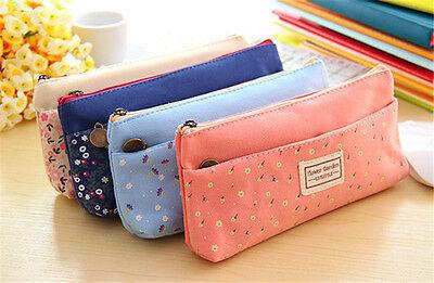 Hot 1PC  Cute Lovely Children Pencil Case Bag Lady Makeup Bag Coin Holder Case