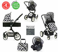 Cosatto Charleston Ooba 3 In 1 Travel System Pushchair 0+ Car Seat Carrycot