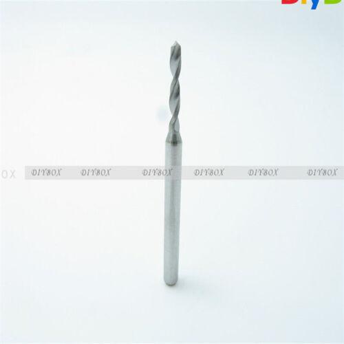 1.0mm Mini Micro Carbide Steel Engraving Drill Bit PCB Press CNC Dremel