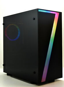 Rgb-034-7-034-Pc-Para-Juegos-Intel-Quad-i5-8-GB-RAM-1TB-HDD-2GB-GDDR-5-GT-1030-Gfx