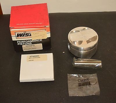 1mm Over for Yamaha TT600 Wiseco Piston Ring Set 96mm XT600 1984-2004