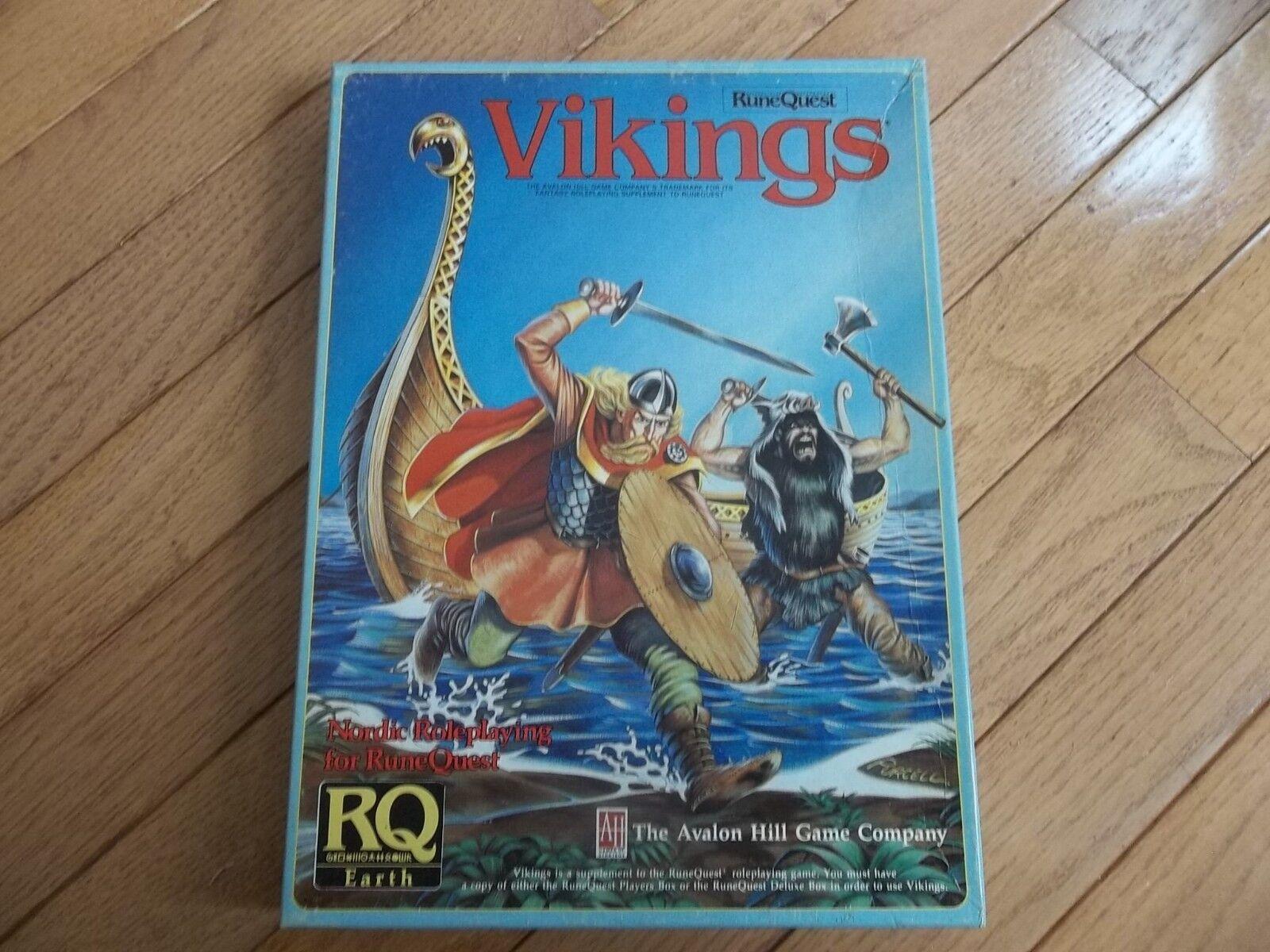 Avalon Hill RuneQuest Vikings Chaosium 1985