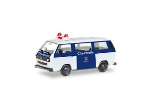 Herpa-093101-h0-coches-vw-bus-t3-citystreife-orden-terciopelo-leverkusen